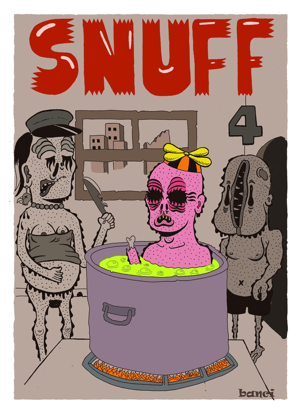 Snuff Comix#4