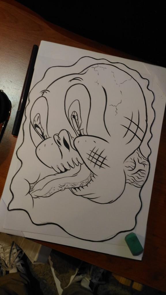 Il disegno del nostro Oral Giacomini per Giganteschio